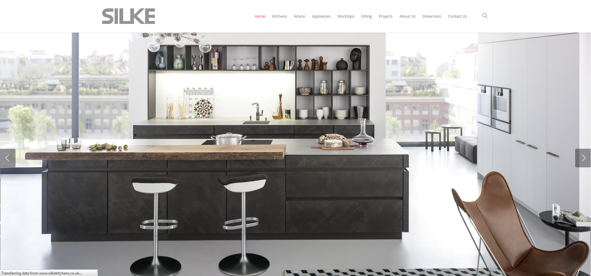 SILKE Website Design